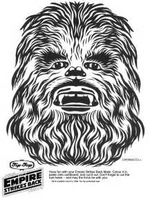 chewbacca coloring pages k s base wars printable masks kaplan s page