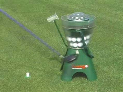 Golf Auto Tee Up Machine by Automated Golf Tee Machine Automatic Golfing Tee Youtube