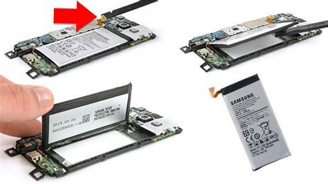 mengganti lcd  baterai samsung galaxy aa