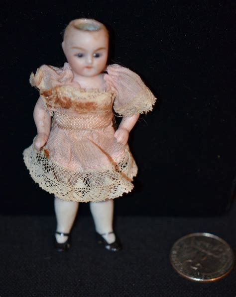 antique bisque dollhouse doll antique miniature doll bisque dollhouse fancy from