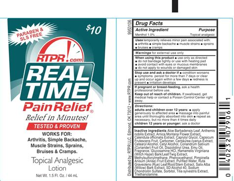 Caprylyl Capsicum by White Real Time Pain Relief Topical Analgesic Details