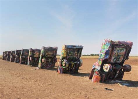 cadillac ranch in amarillo cadillac ranch amarillo tx photo de cadillac ranch