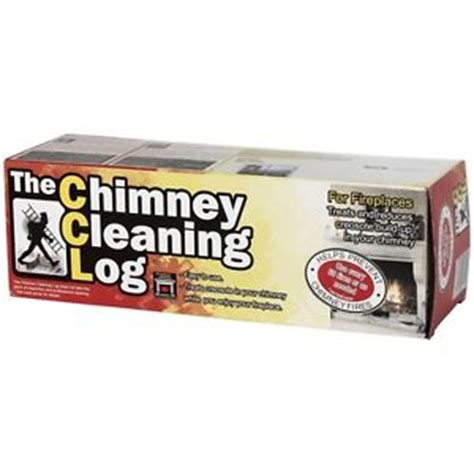 chimney cleaning log fireplace and woodstove log cleaner