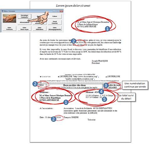 Attestation Fiscale Modele