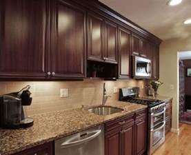 Kitchen Backsplash Dark Cabinets 25 Best Ideas About Dark Kitchen Cabinets On Pinterest
