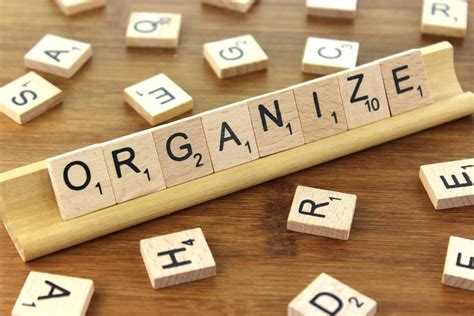 organise and organize organize wooden tile images