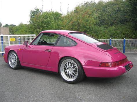 pink porsche 911 pink porsche 964 porsche turbo porsche 964