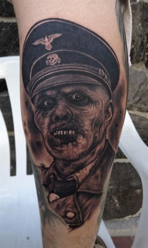 zombie tattoo ink nazi zombie tattoo by bob tyrell tattoos by tattoo
