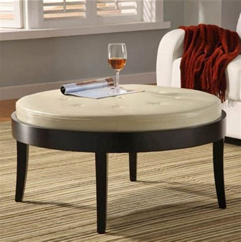white ottoman coffee table white leather ottoman coffee table furniture roy home design