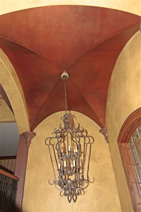 ribbed vault ceiling rustic chicago by martin bros