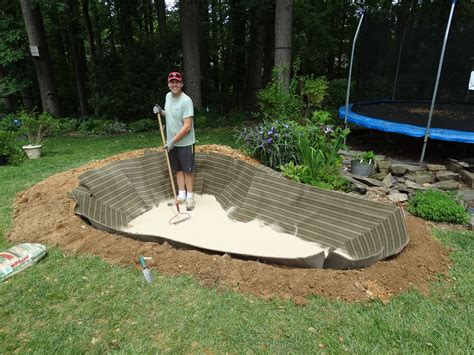 installing a backyard pond how to create a backyard pond step by step the soulful gardener