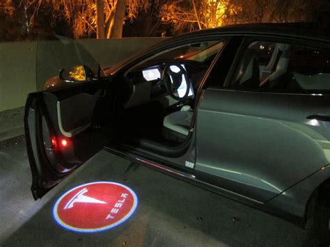 Door Lights For Car by Projector Logo Lights Teslatap
