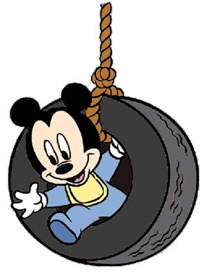 mickey mouse swing for baby disney babies clip art 5 disney clip art galore