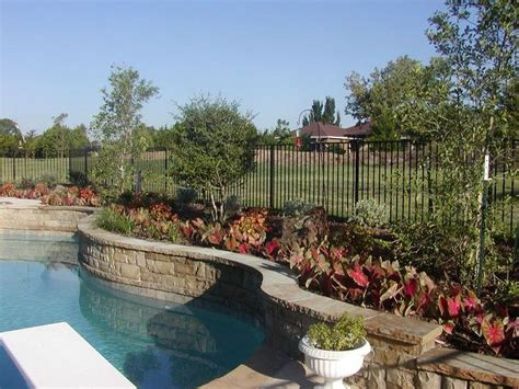 landscaping ideas around pool pool landscaping ideas ag105 2 outdoor swimming pool