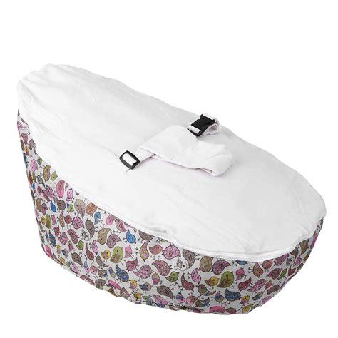 baby bean bag bed infant baby bean bag adjustable harness kids toddler bed