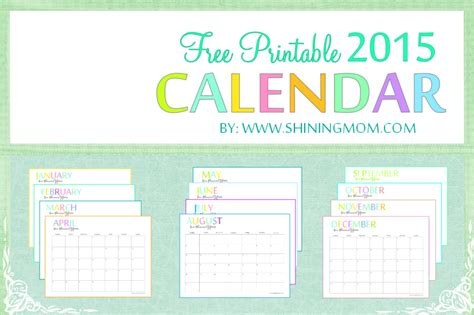 printable calendar 2015 cute free best images free best images collections it s 100