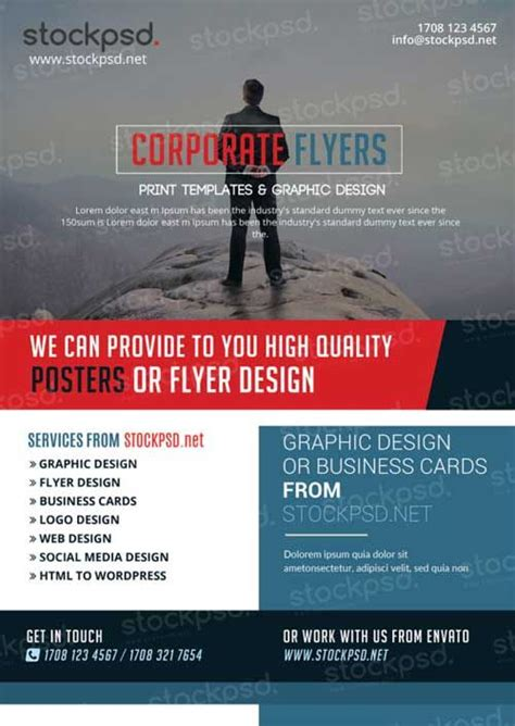 flyer exles for events corporate business free psd flyer template http