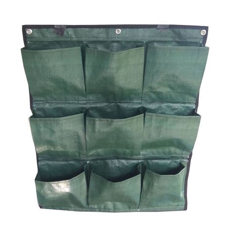 Harga Planter Bag 2017 planter wall 9 kantong purie garden
