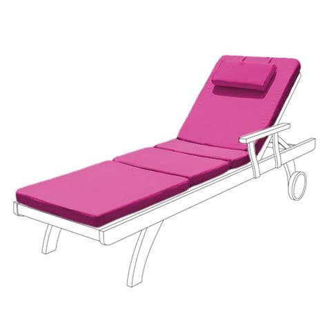 waterproof cushion pad for outdoor garden patio adjustable sun lounger bed ebay