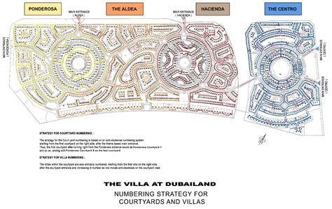 Lake House Plans the villa map the villa dubai master plan