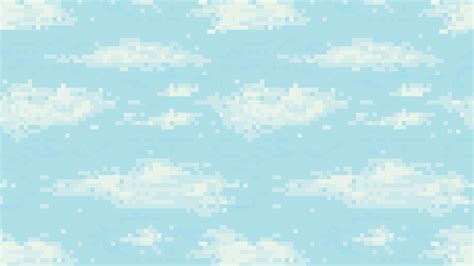 pixelated background retro pixel blue sky background pixelated