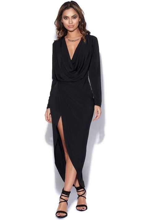 cowl drape dress vestry cowl neck drape dress at vestry