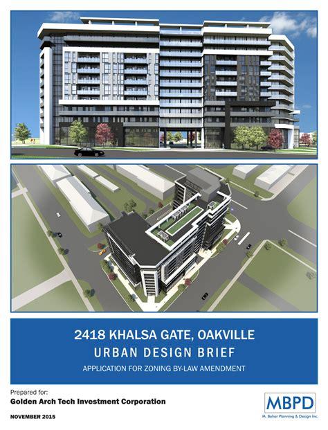 design brief urban design 2418 khalsa gate mbpd