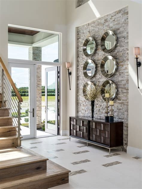 entry wall design ideas remodel pictures houzz