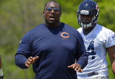 bears couch chicago bears coach flattens player in practice talks