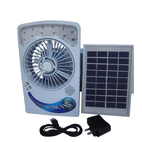 solar powered outdoor fans solar air fan light hiking outdoor survival cing eye