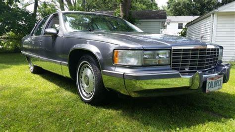 Cadillac Fleetwood Sedan 1993 Grey For Sale