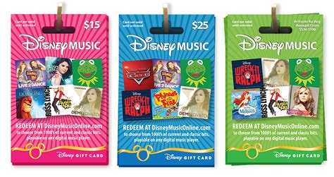 Music Gift Cards - disney music gift card makes shopping easy mommy s fabulous finds