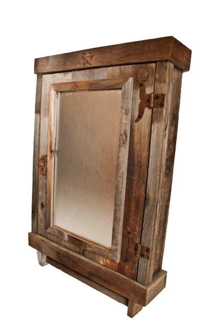 Rustic Bathroom Cabinet Mirrored By Teresa Mellon Rustic Bathroom Cabinet