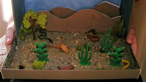 good desert habitat project  kids
