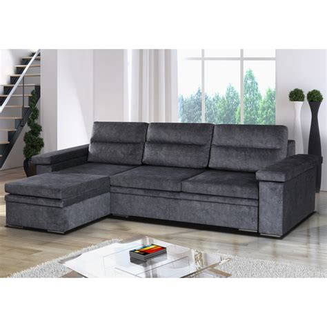fabric sofa bed with storage corner sofa bed with storage grey fabric sofafox