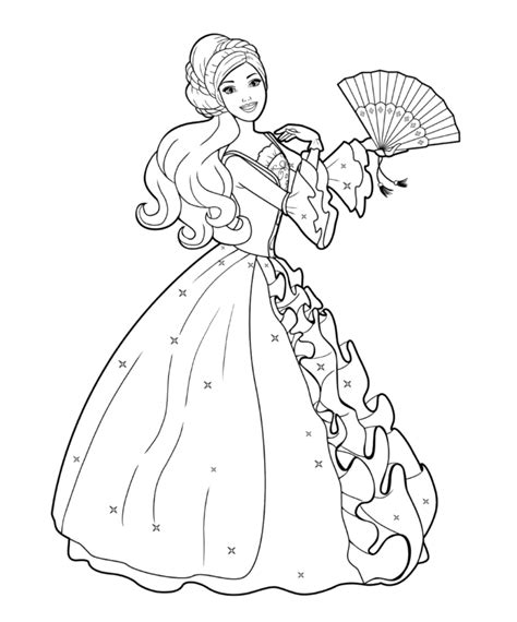 barbie dancing coloring pages barbie doll dancing coloring pages kids coloring pages