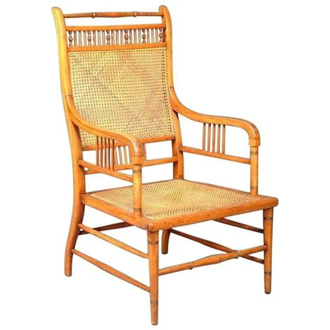 japanese armchair anglo japanese beech and caned armchair by e w godwin for