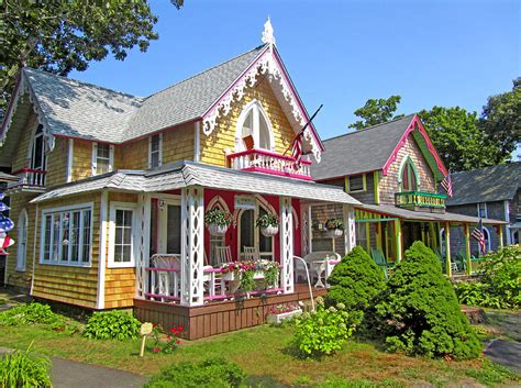 Oak Bluffs Cottages oak bluffs gingerbread cottages 3 by sellers