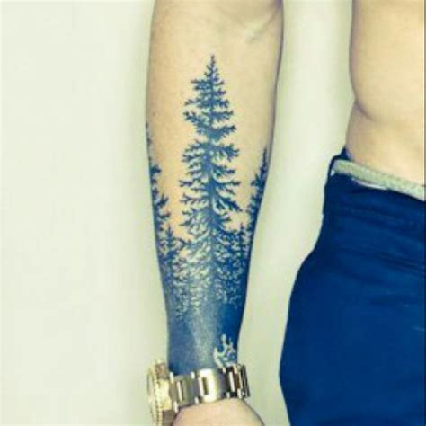 wrap around arm tattoos for men half sleeve forest that i want wrapped around forearm