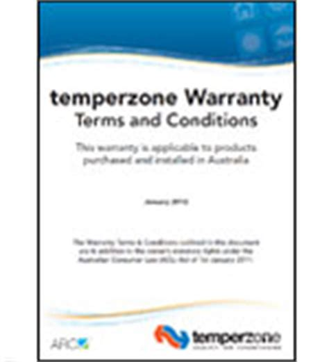 australian consumer law section 54 ducted air conditioning heating cooling systems
