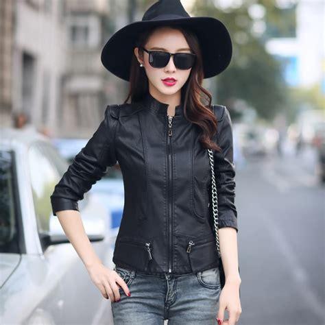 Style Korea Leather Jaket 52 te0291xyw new style korean fashion stand collar pu leather jacket