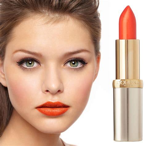 Lipstik Za loreal lipstick color riche 163 orange magique http