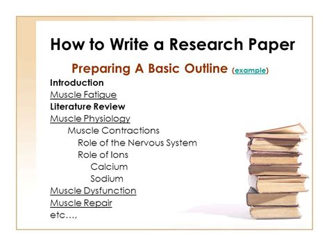 how to write a college research paper how to write a research paper for college its nacho