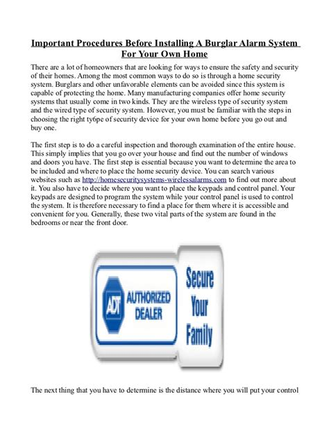 install your own home security system 28 images home