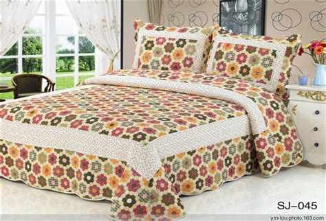 Patchwork Bedsheets - china painted bed sheets 100 cotton patchwork quilt