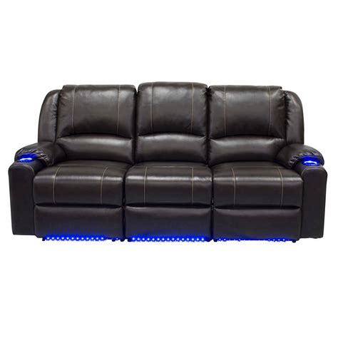 recliner sofa theater seating theater reclining sofa 907 00 rec3 fordham reclining sofa
