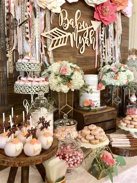 Church Baby Shower Ideas by Boho Chic Baby Shower Ideas Projects To Try