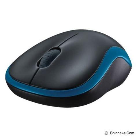 Mouse Wireless Logitech Bhinneka jual logitech wireless mouse m185 910 002502 blue murah bhinneka