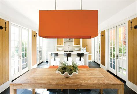 Orange Pendant Lights Kitchen Christine Fife Interiors Design With Christine