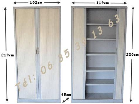 Armoire Avec Etagere by Armoires M 233 Talliques 2 Portes Rideau Avec 233 Tag 232 Res Negoce